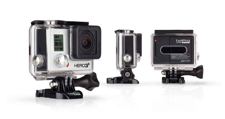 Hero 3+ Black Edition onderwater actiecamera