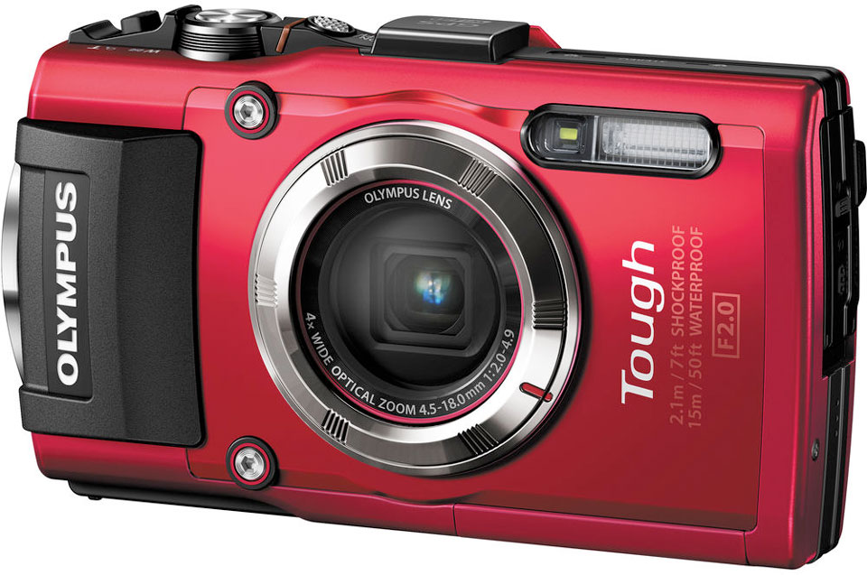 Olympus Stylus Tough TG-3 waterdichte camera
