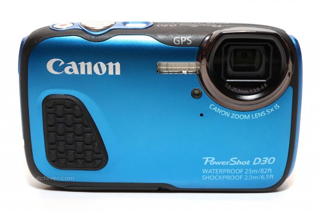 waterdichte camera Canon PowerShot D30