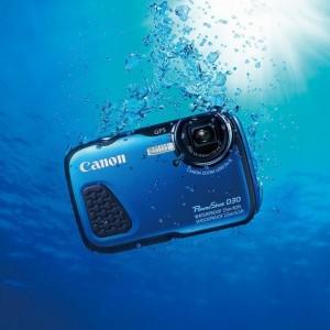 Canon PowerShot D30 onder water