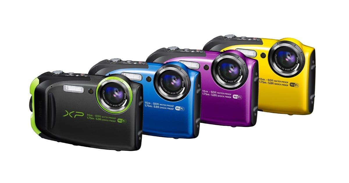 De XP80 is verkrijgbaar in 4 kleuren