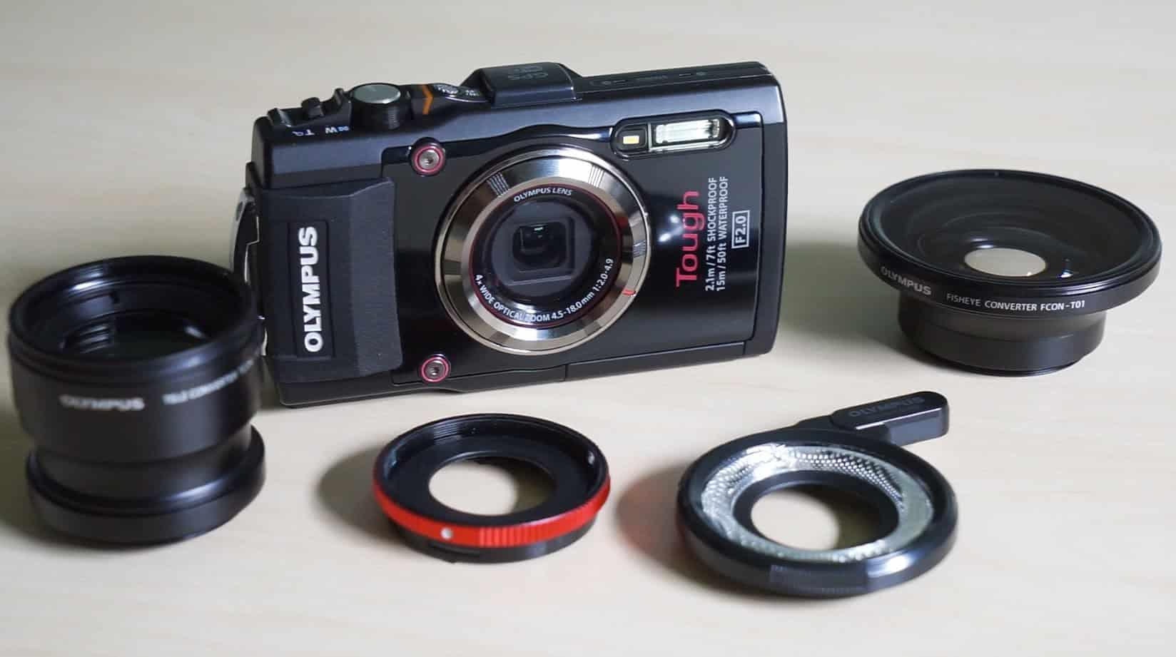 De lensring ondersteunt verschillende add-ons
