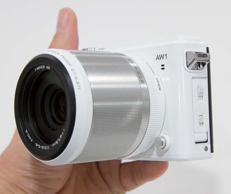 Nikon 1 AW1 kopen onderwatercamera