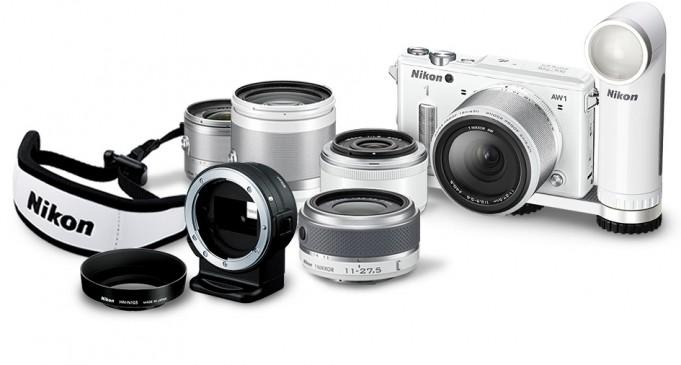 Nikon 1 AW1 kopen review stukken