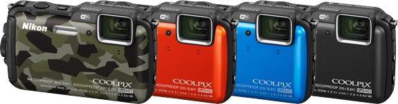 Nikon Coolpix AW120 modellen camera