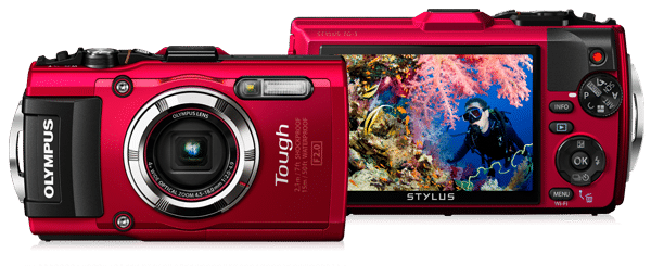 Olympus Tough TG-3 onderwatercamera review