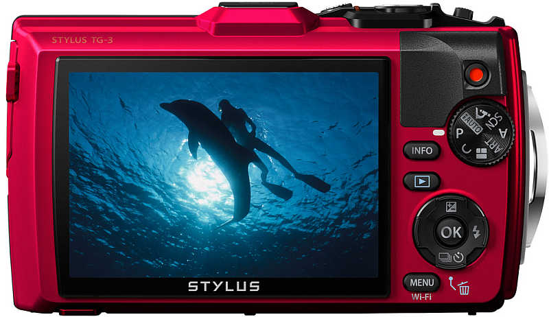 Olympus Tough TG-3 review knoppen onderwatercamera