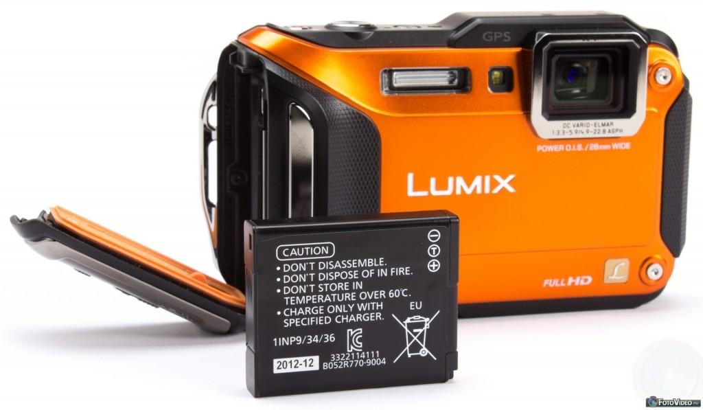 Panasonic Lumix DMC-FT5 Review batterij