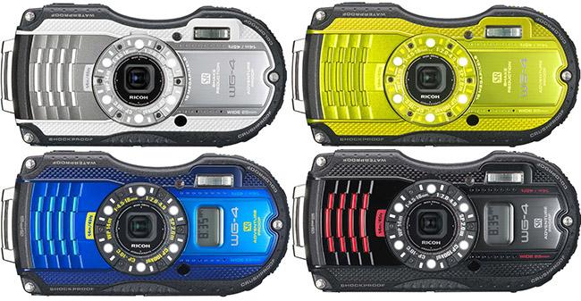 onderwatercamera Ricoh WG-4 Review