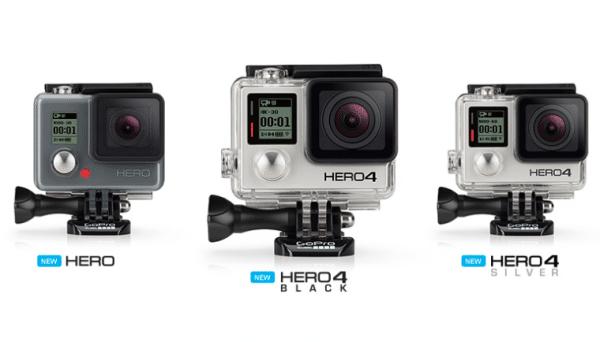 De GoPro Hero4-serie