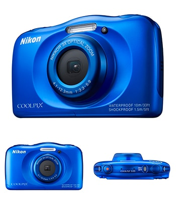 Nikon Coolpix S33 review