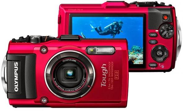 Olympus tough TG-4 onderwater camera kopen