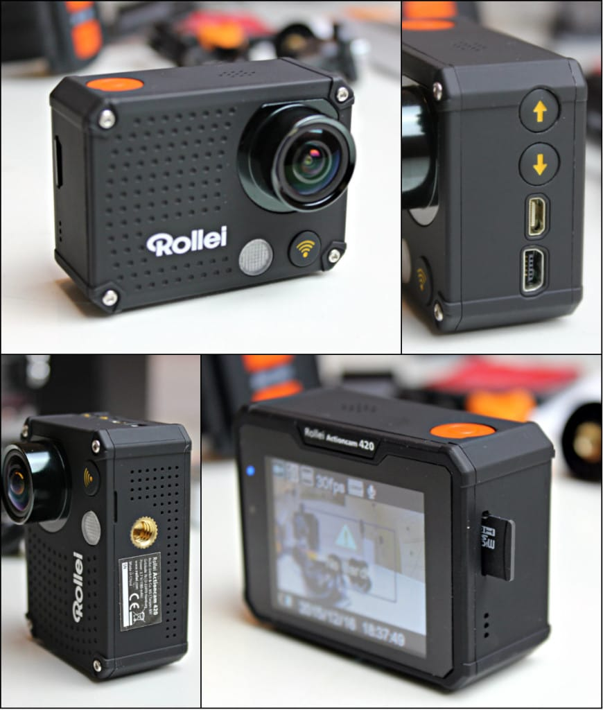 Goedkope Rollei Actioncam 420 Review