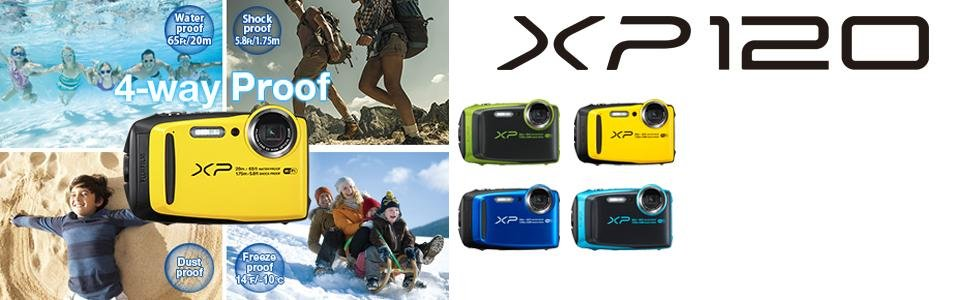 Goedkope Fujifilm FinePix XP120 Review