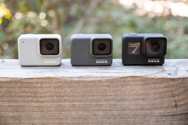 GoPro Hero 7 modellen