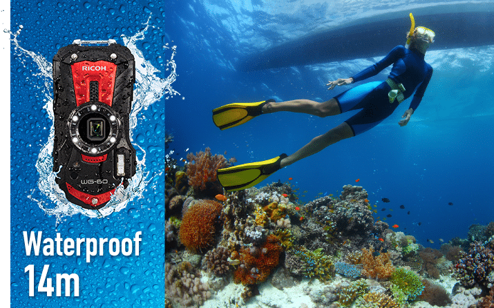 ricoh wg-60 review onderwater camera waterproof
