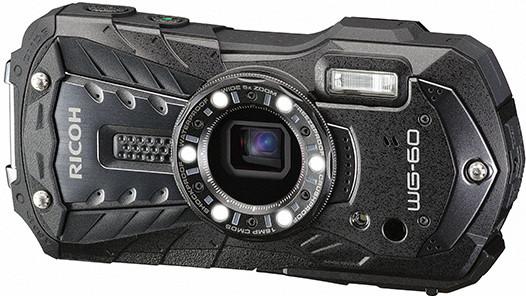 ricoh wg-60 zwart versie onderwatercamera