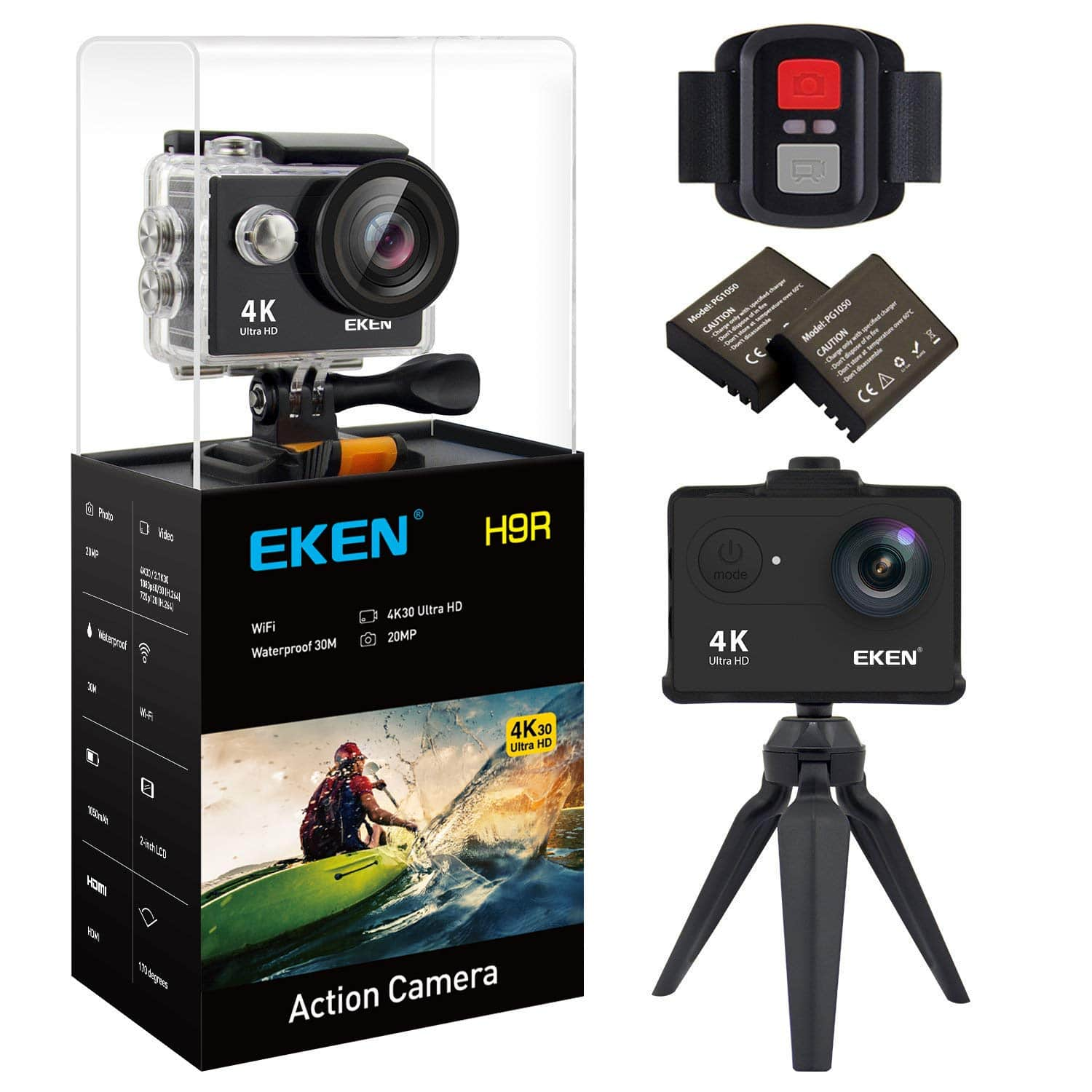 EKEN H9R review action camera budget