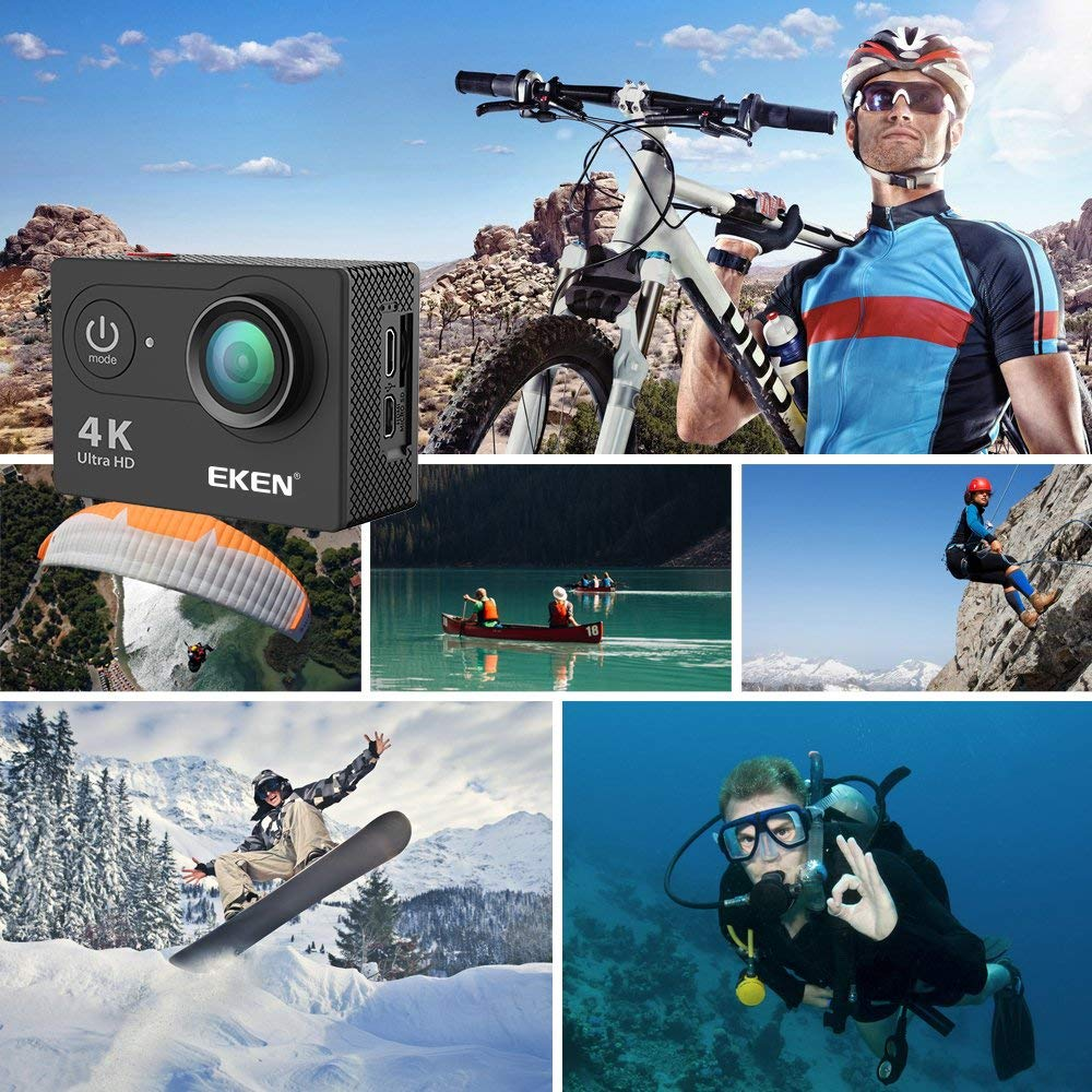 action camera EKEN H9R review