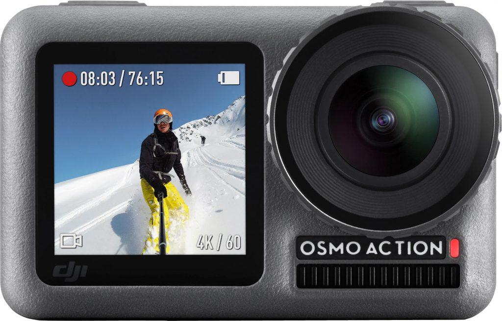 dji osmo in gebruik action camera