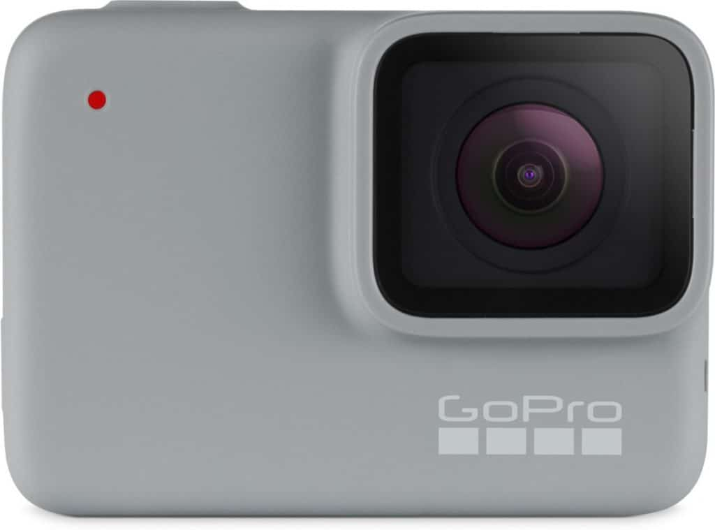 gopro 7 hero white voorkant beste instap action camera
