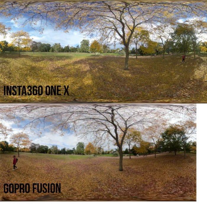 GoPro Fusion vs Insta360 One X
