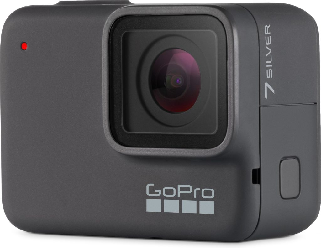 gopro silver hero 7 onder water camera action camera