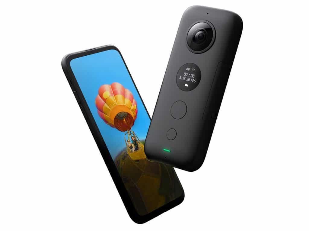 iphone insta360 one x