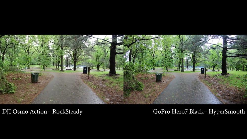 Vergelijking beeldkwaliteit