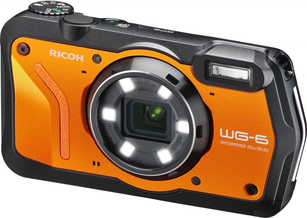 ricoh wg-6 actie camera onderwatercamera