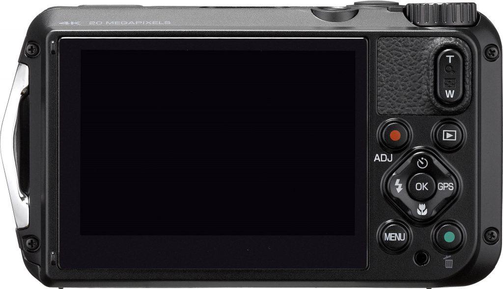 scherm van ricog wg-6 compactcamera